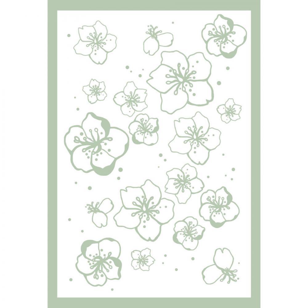 Одеяло байковое взрослое 150x212 Цветы сакуры