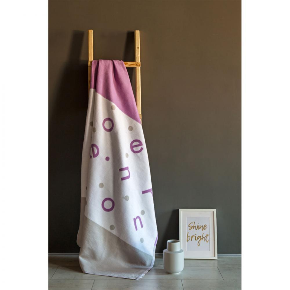 Байковое одеяло взрослое 150x212 Ермолено валериана