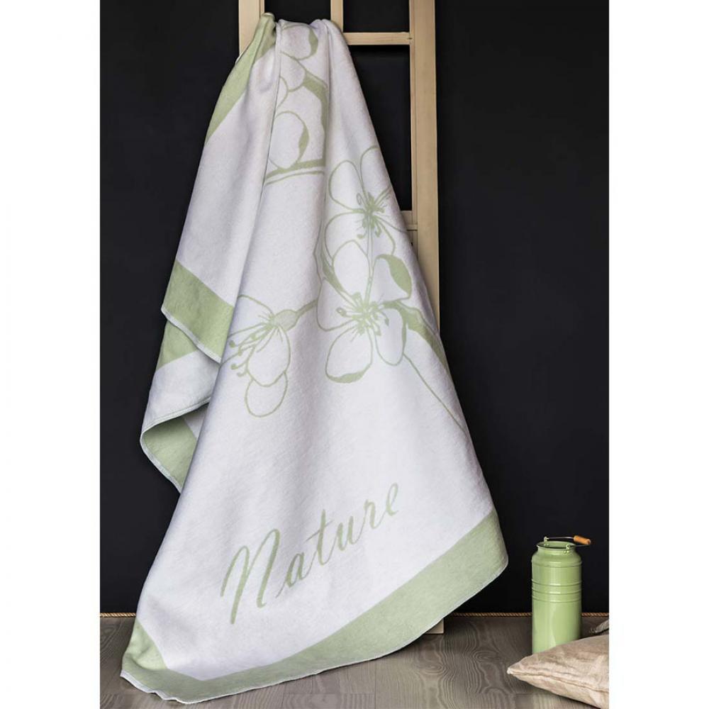 Одеяло байковое взрослое 150x212 Сакура