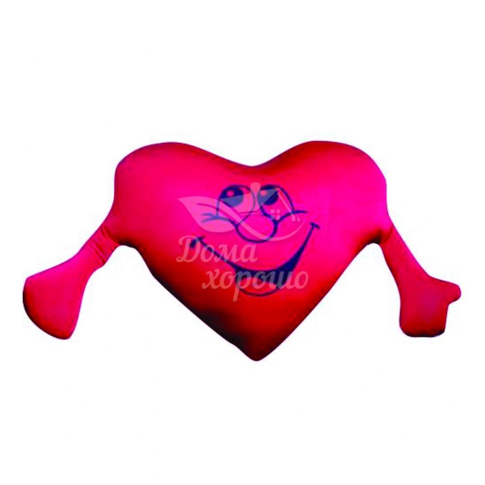Антистрессовая подушка Сердце с руками