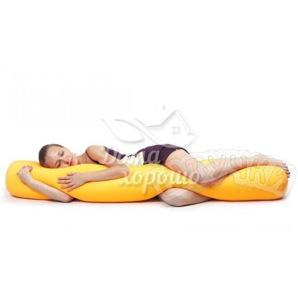 Антистрессовая подушка-валик (большой) 150x23