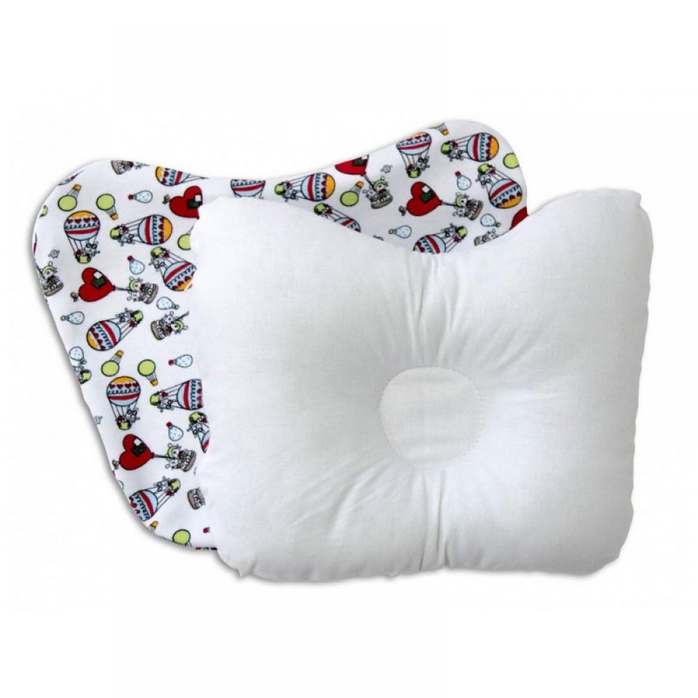Комплект Бабочка-плюс подушка и наволочка трикотаж 27x20x3