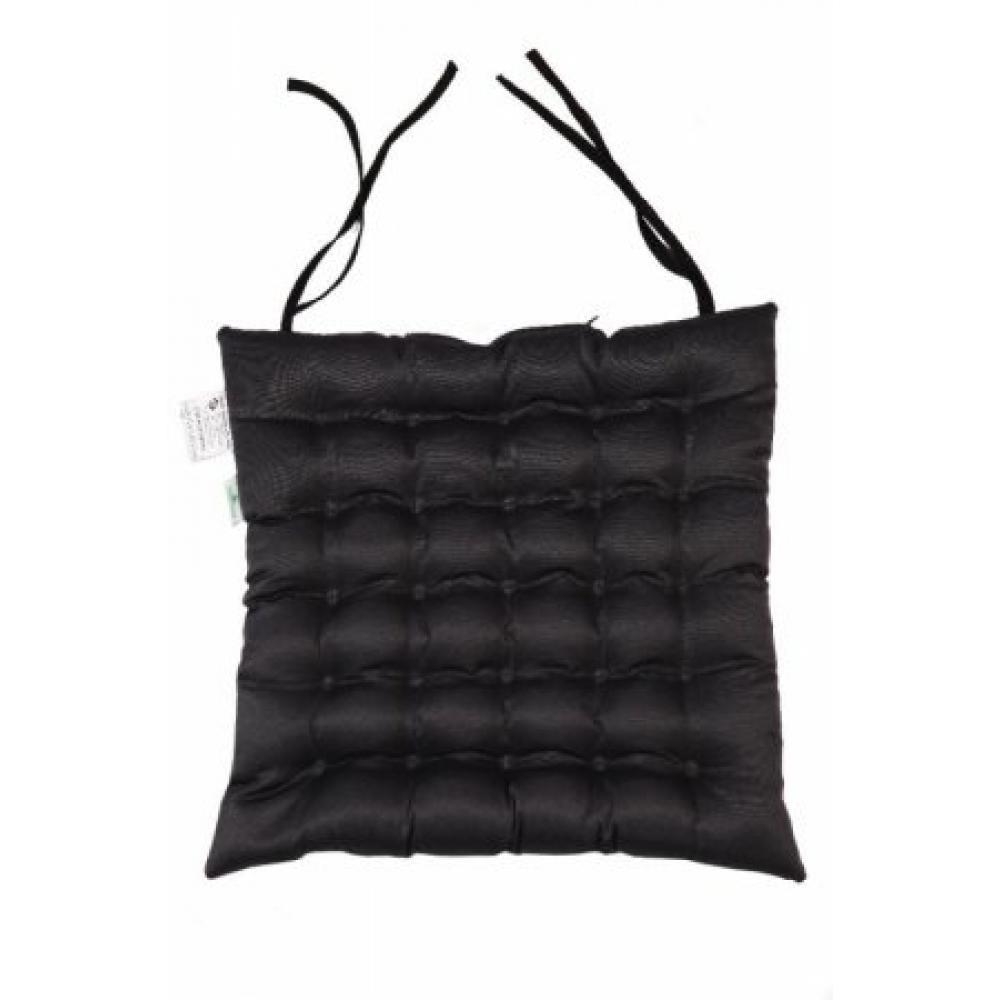 Подушка на сиденье с завязками для стула Уют 40x40