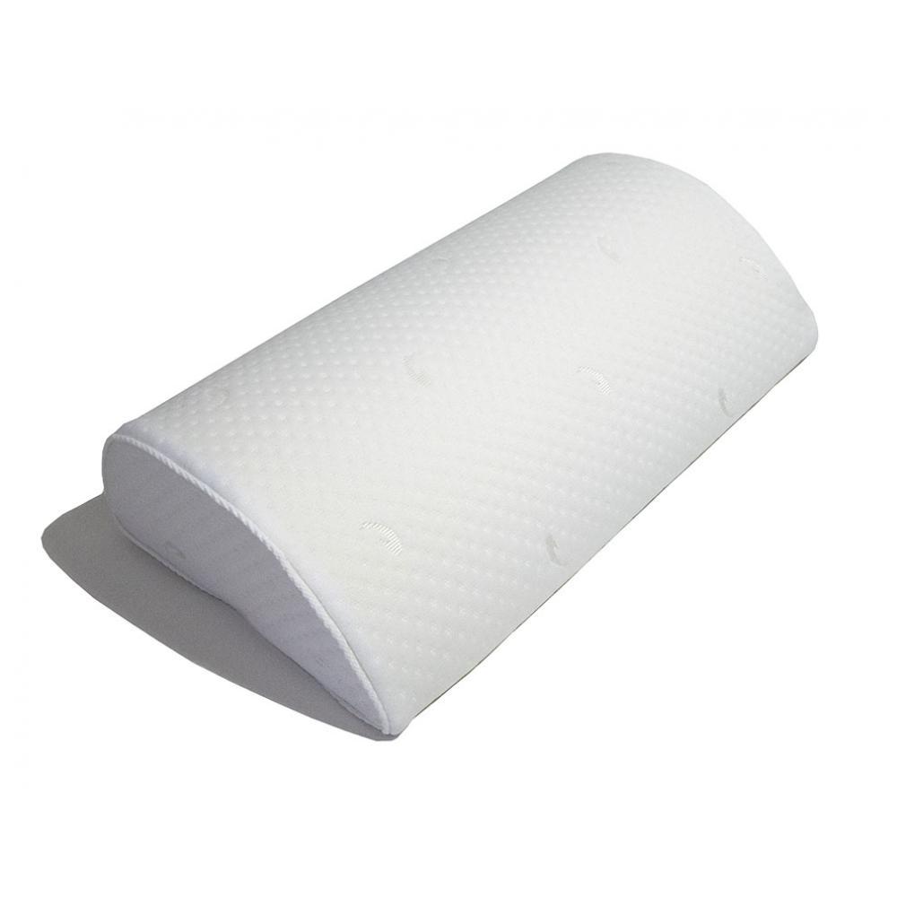 Подушка-полувалик с эффектом памяти Формула здоровья с ионами серебра 40х22х9