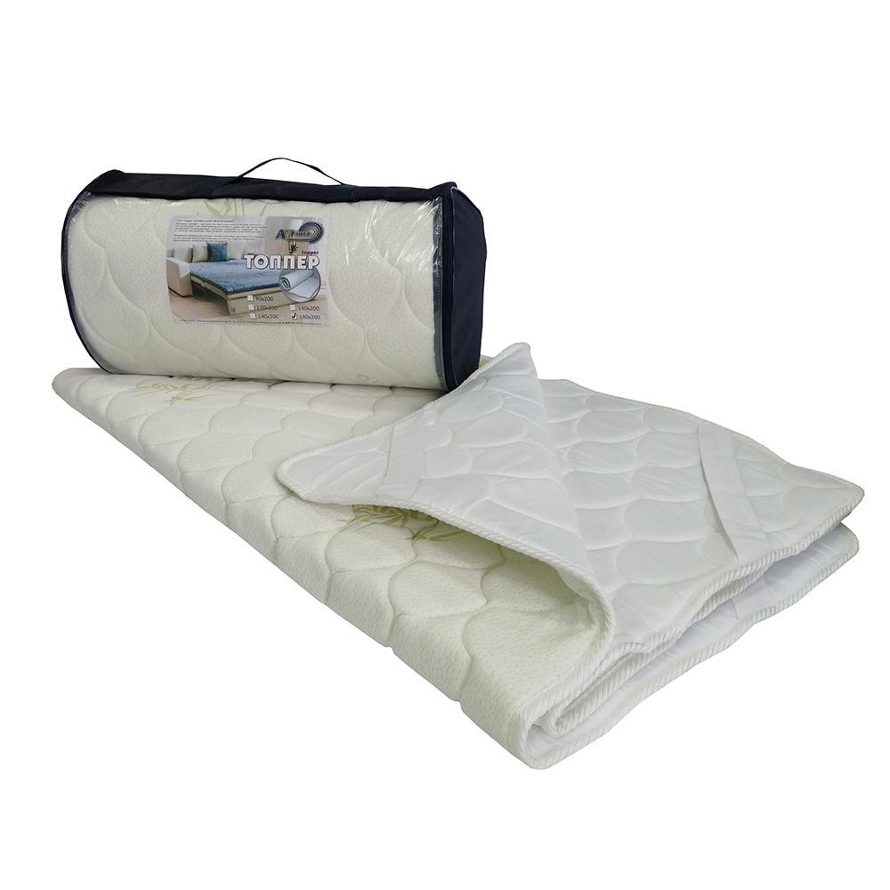 Наматрасник-матрас Топпер 90х200 ткань трикотаж и микрофибра