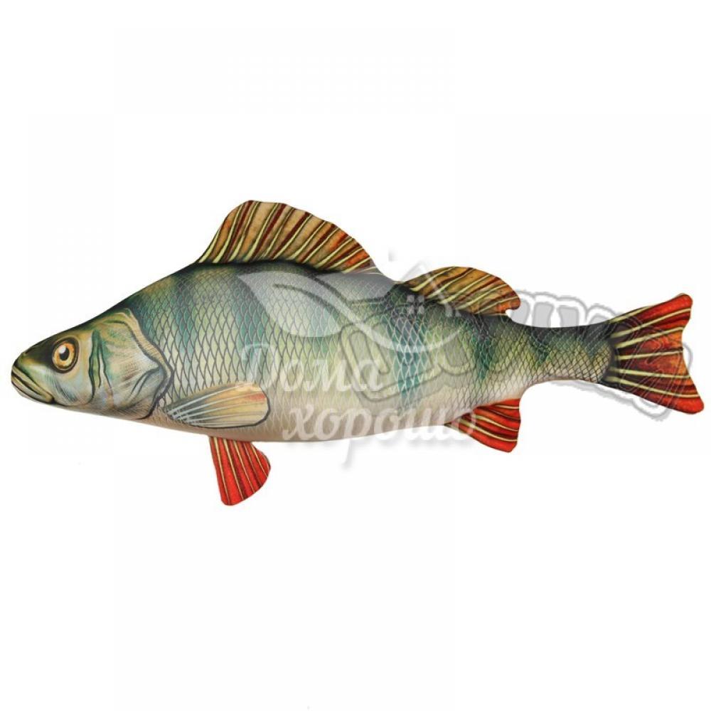 Антистрессовая игрушка Рыба Окунь 105x47, 60x27, 46x23