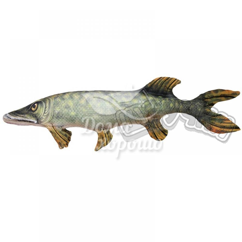 Антистрессовая игрушка Рыба Щука 60x20, 80x22, 134x38