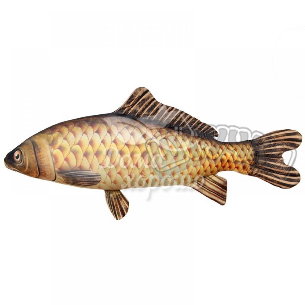 Антистрессовая игрушка Рыба Сазан 53x24, 65x28, 117x53