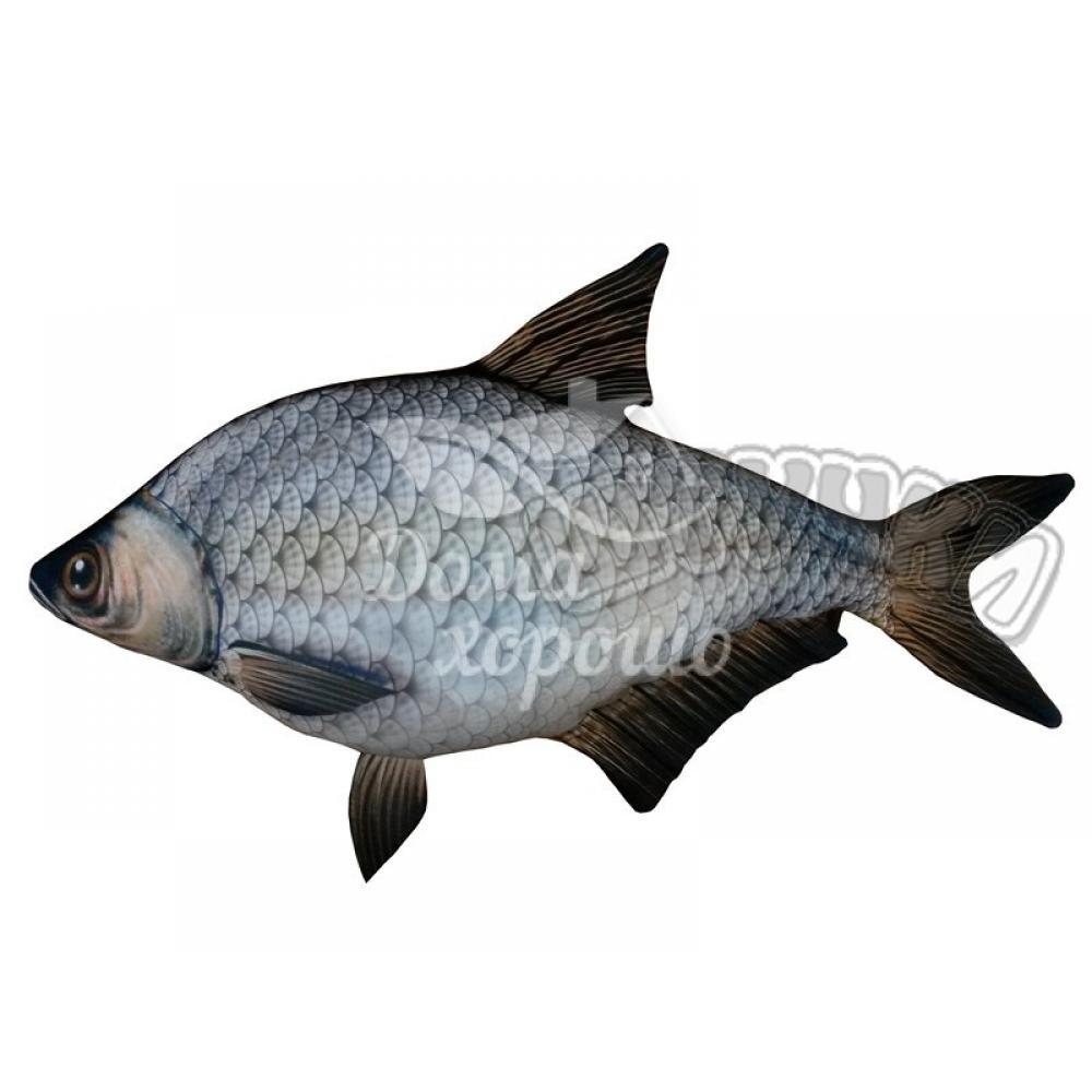 Антистрессовая игрушка Рыба Лещ 47x30, 55x30, 80x46