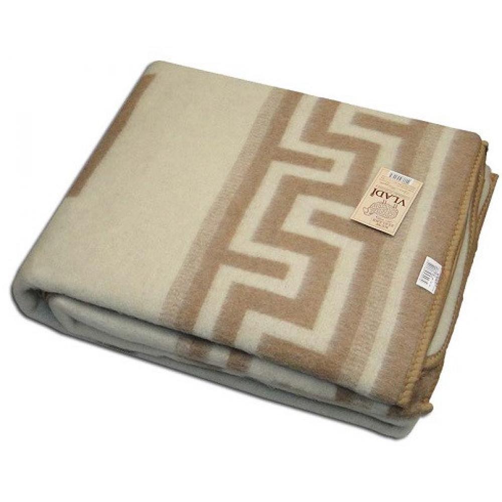 Одеяло из овечьей шерсти полуторное 140x205 Греция Люкс Vladi