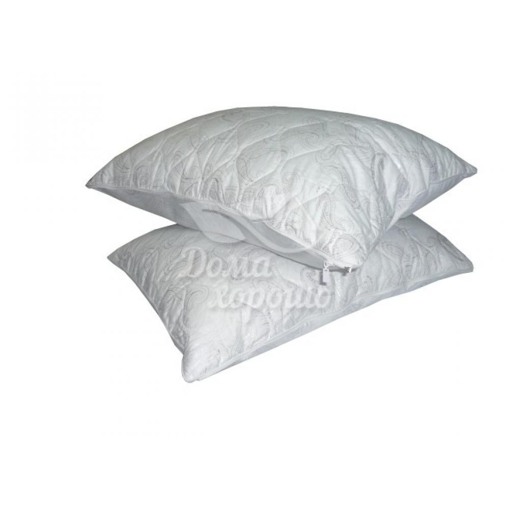 Подушка пуховая Дуэт две молнии 50x70 (лебяжий пух)