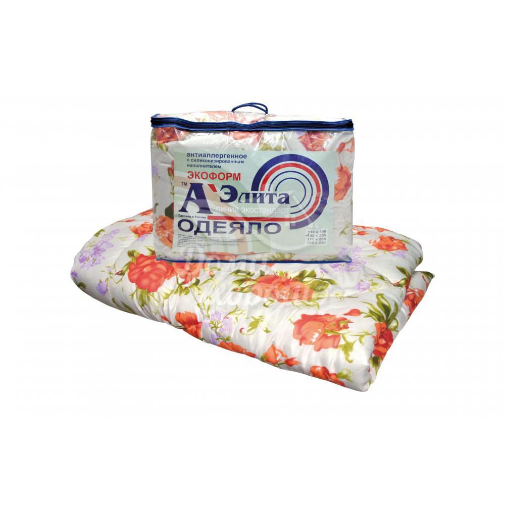 Одеяло Экоформ утолщенное 200x220 гипоаллергенное