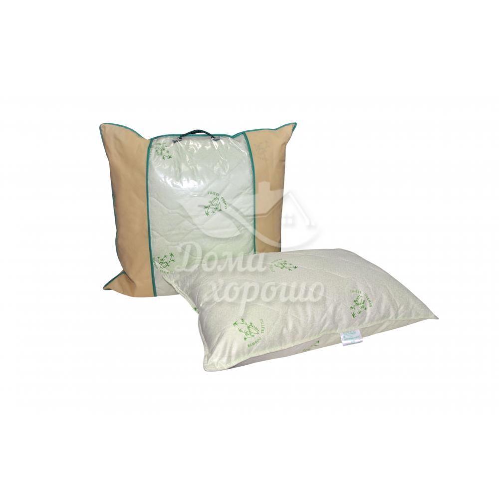 Подушка бамбуковая 2-х камерная Этюд 50x70 лебяжий пух (искусственный)