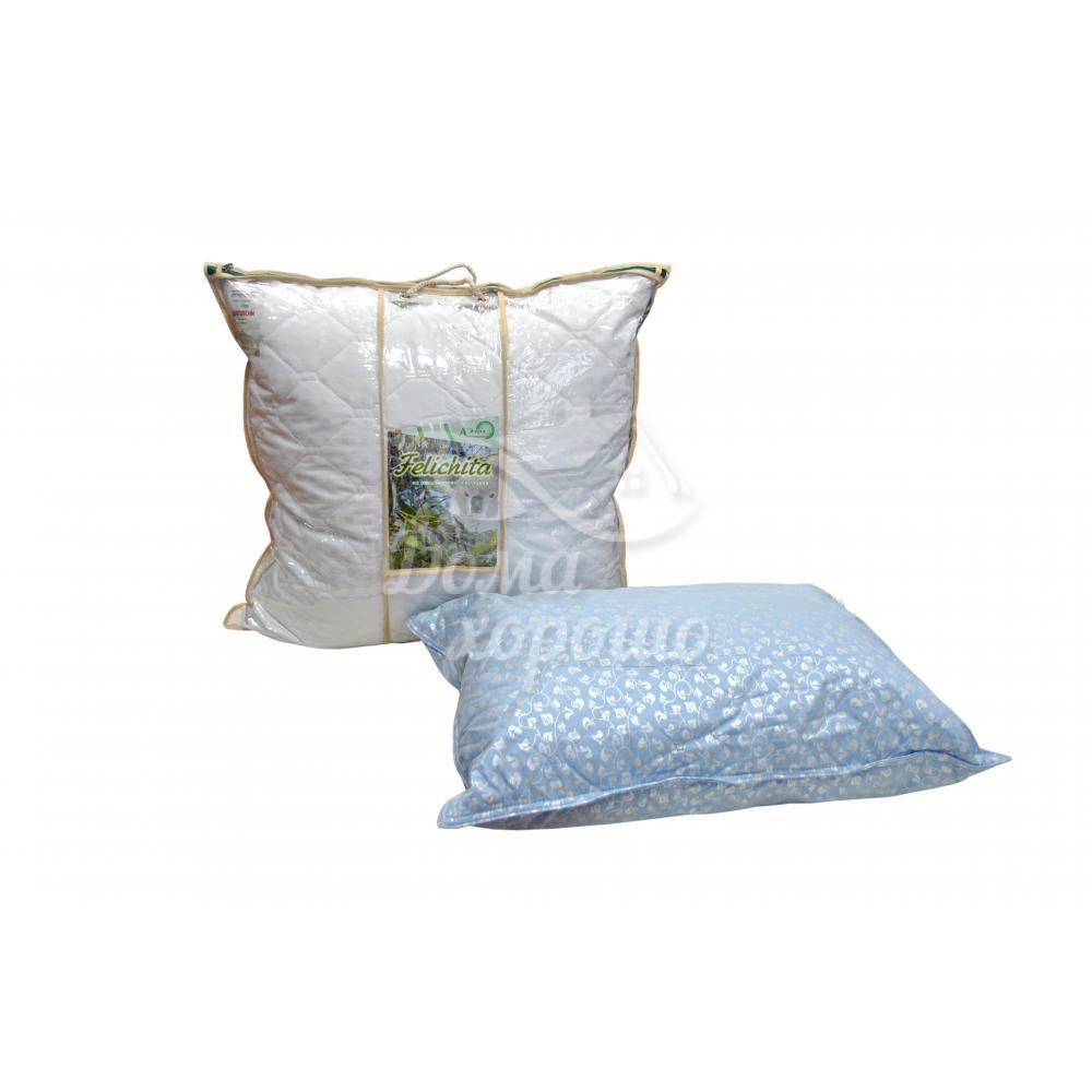 Подушка эвкалипт 2-х камерная Феличита 50x70, 60x60, 70x70 (эвкалиптовое волокно)