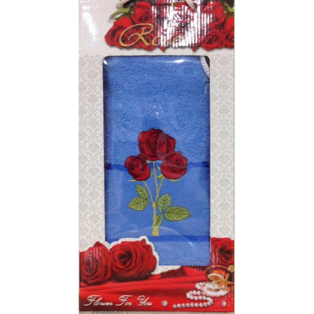 Полотенце банное Роза 70x140