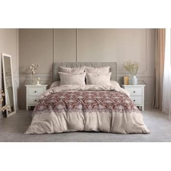 Постельное белье Ночь Нежна Восточная принцесса коричневый (семейное, евро, 1.5, 2 спальное) поплин