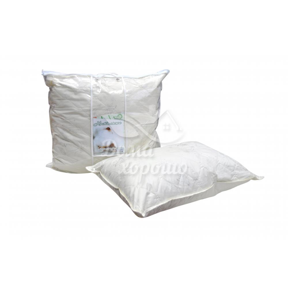 Подушка из хлопка 2-х камерная Ностальжи 50x70, 70x70 (тик)