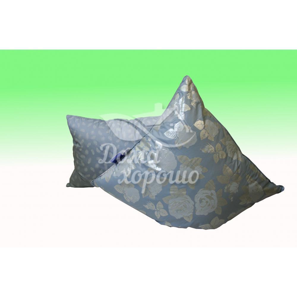 Подушка пуховая Люкс 50x70, 70x70 (гусиный пух)