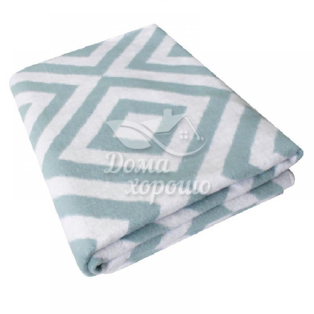 Одеяло байковое х/б взрослое 205x150 Ромбы