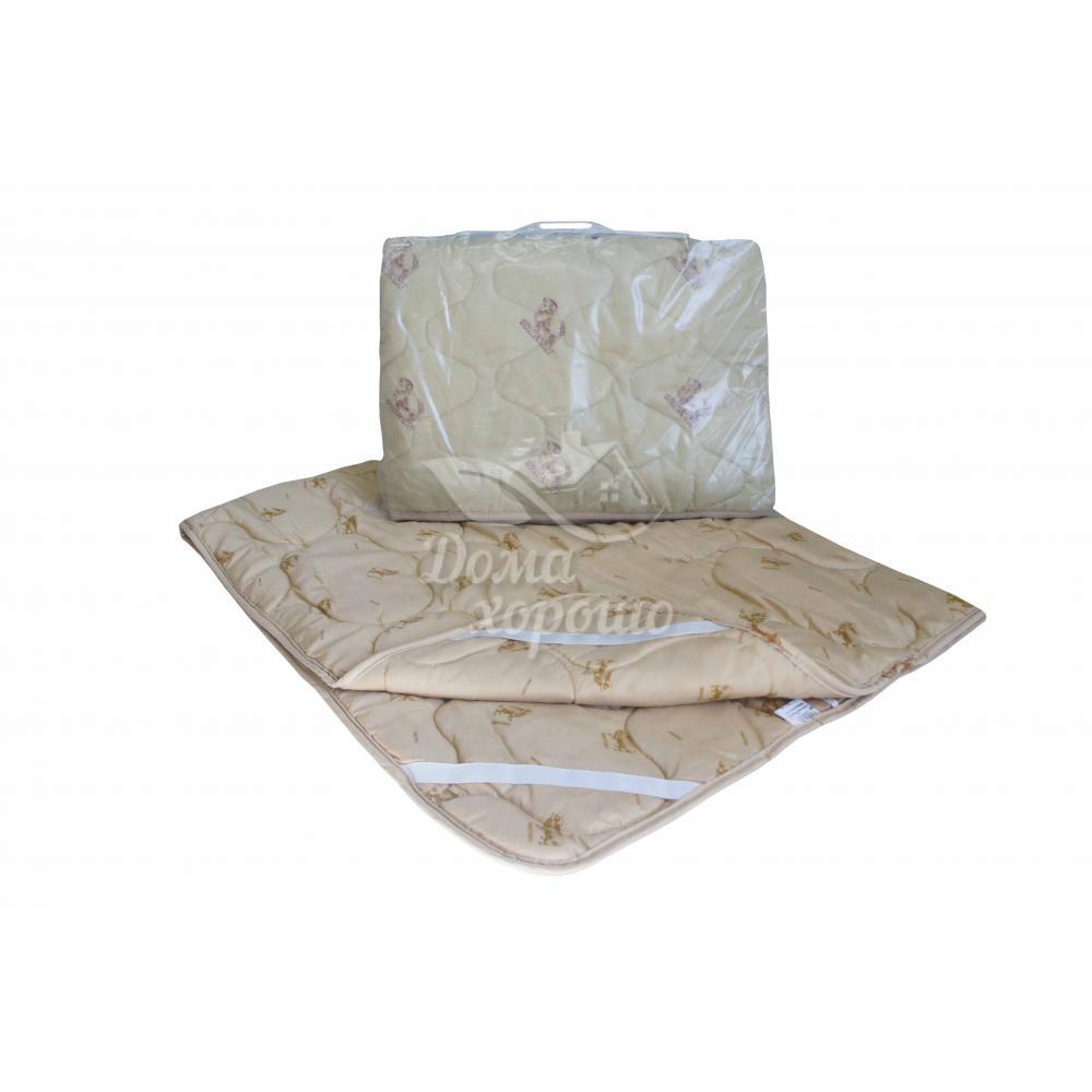 Наматрасник 80x200 наполнитель шерсть Аэлита плотность 300 гр./м2