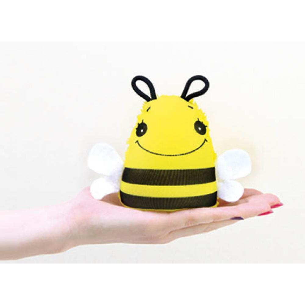 Игрушка-мочалка растущая в воде Пчелка