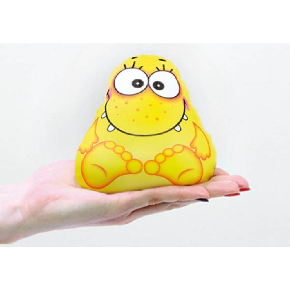 Игрушка-мочалка растущая в воде Капитошка желтая