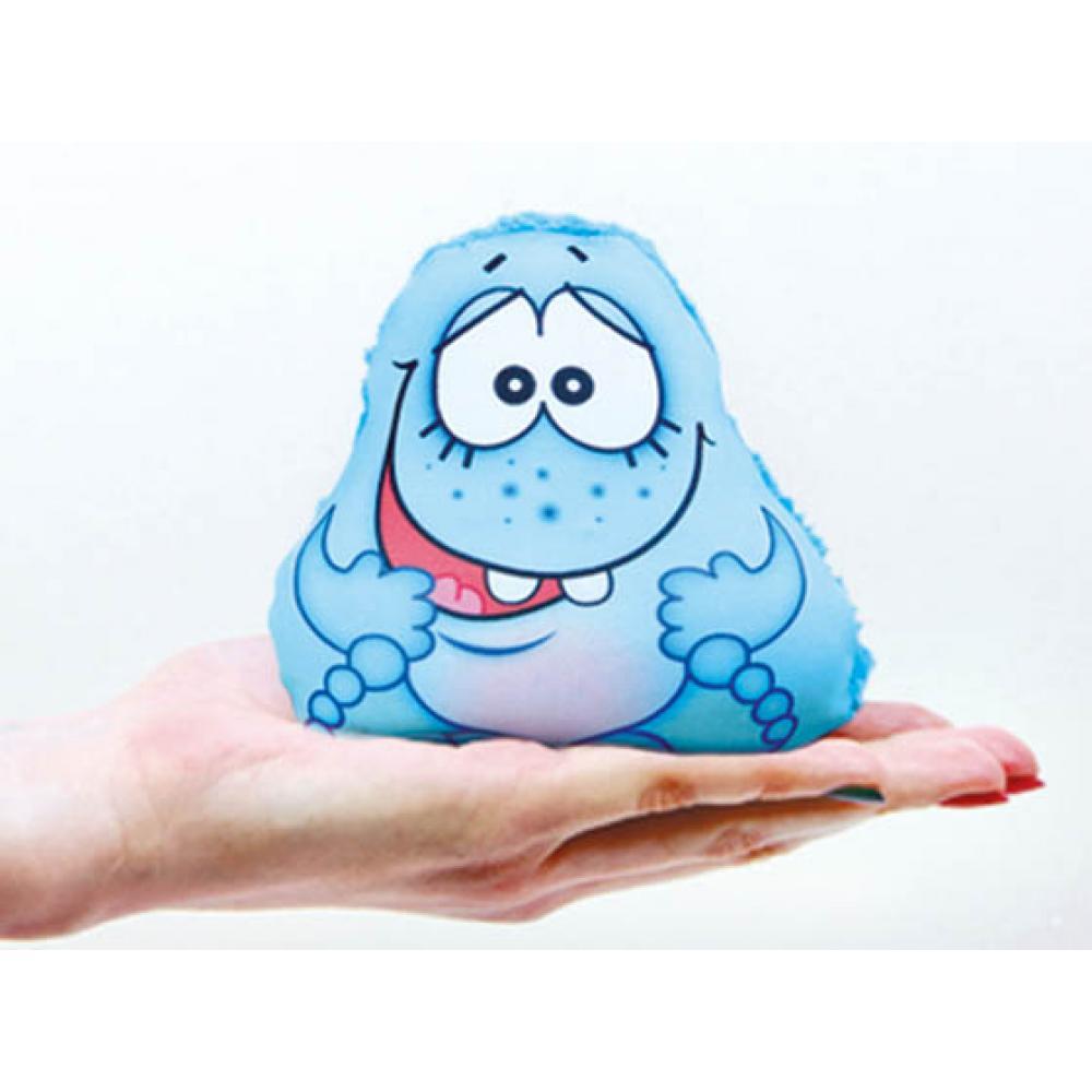 Игрушка-мочалка растущая в воде Капитошка синяя