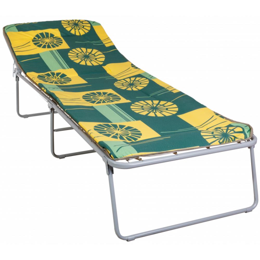 Раскладушка кровать раскладная Надин с408 (с матрасом круги)