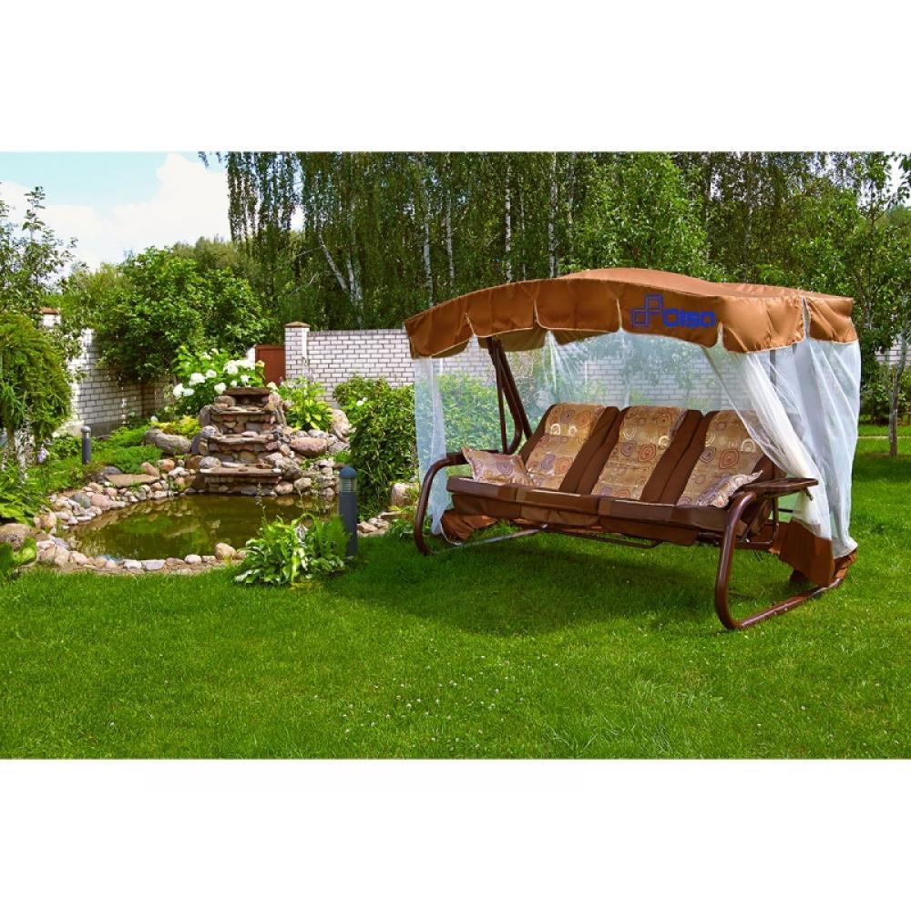 Качели садовые Палермо Премиум с591 (мебельная ткань)